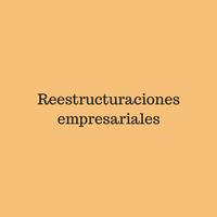 Reestructuraciones empresariales